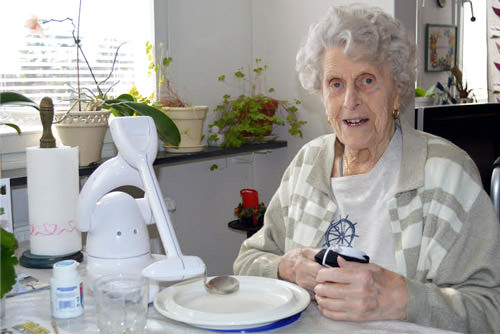 Bestic spiserobot til ældre