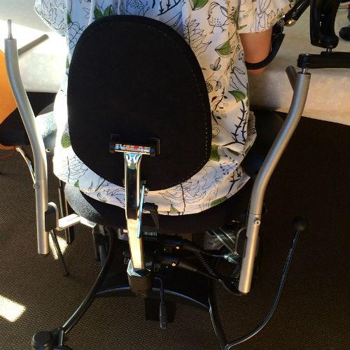 Edero montering på Vela stol
