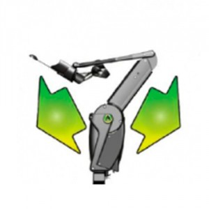 Elektrisk armstøtte Armon Ayura- hjælpemiddel til mennesker med nedsat bevægelighed i armene