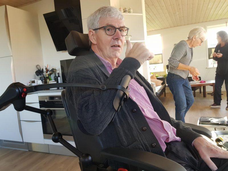 Armstøtter til ALS-patienter