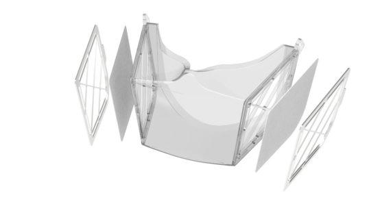 Transparent mundmaske mod COVID_19_filtre